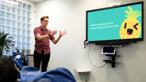 Feels and Emojis Shared at DataHouse Brown Bag Series Tech Talk
